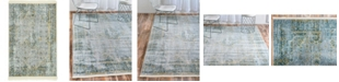 "Bridgeport Home Kenna Ken1 Gray 2' 2"" x 3' Area Rug"