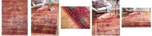 Bridgeport Home Kenna Ken1 Red 10' x 13' Area Rug