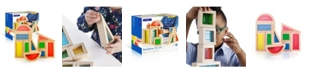 Guidecraft, Inc Guidecraft Rainbow Blocks - 10 Pieces Set