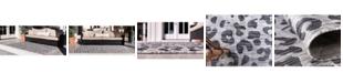 Bridgeport Home Pashio Pas7 Light Gray Area Rug Collection