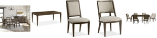 Furniture Monterey Dining Furniture, 7-Pc. Set (Table, 4 Side Chairs & 2 Hostess Chairs), Created for Macy's