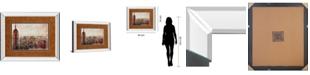 "Classy Art Shades of New York by Markus Haub Mirror Framed Print Wall Art, 34"" x 40"""