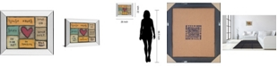 "Classy Art House Rules by Lisa Larson Mirror Framed Print Wall Art, 22"" x 26"""