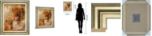 "Classy Art Wild Kingdom II by Georgie Framed Print Wall Art, 22"" x 26"""