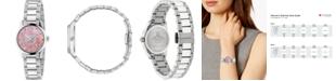 Gucci Women's Swiss G-Timeless Stainless Steel Bracelet Watch 27mm