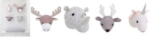 NoJo Plush Animal Head Wall Decor
