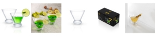 JoyJolt Cosmos Martini Glasses - Set of 2
