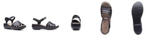 Clarks Collection Women's Delana Brenna Flat Sandals