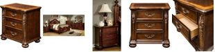 Furniture of America Perrena 3-drawer Nightstand