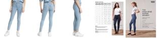 Levi's Women's 720 High Rise Super Skinny Jeans in Short Length