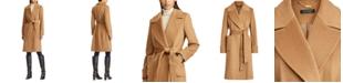 Lauren Ralph Lauren Wool-Blend Wrap Coat