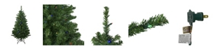 Northlight Pre-Lit Mixed Classic Pine Medium Artificial Christmas Tree-Multi LED Lights