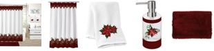 Idea Nuova CLOSEOUT! Holiday Poinsettia 17-Pc. Bath Set