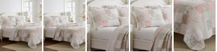 Laura Ashley Celina King Patchwork Quilt Set, 3 Piece