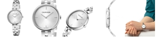 Calvin Klein Women's Elegant Stainless Steel Bracelet Watch 32mm