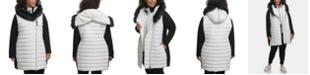 Calvin Klein Plus Size Hooded Sweater-Sleeve Jacket
