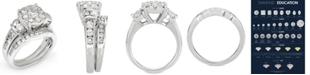 Macy's Diamond Composite Bridal Set (2-1/2 ct. t.w.) in 14k White Gold