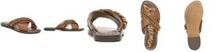 Sam Edelman Women's Gabrie Crisscross Chain Sandals