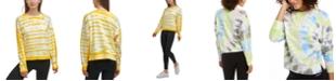 Calvin Klein Logo Tie-Dyed Sweatshirt