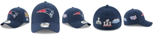 New Era New England Patriots 5X Super Bowl Champ Patch 39THIRTY Cap