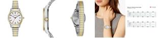 Caravelle  Women's Two-Tone Stainless Steel Bracelet Watch 30mm