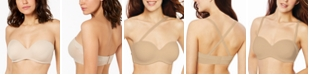 Bali Strapless One Smooth U Side & Back Smoothing Shaping Underwire Bra DF6562