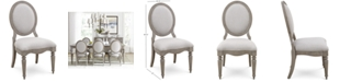 Furniture Elina Upholstered Side Chair, Created for Macy's