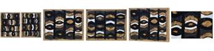 Furniture Iris Small Rectangular Wall Decor, Quick Ship