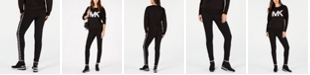 Michael Kors Logo-Tape Jogger Pants, Regular & Petite Sizes