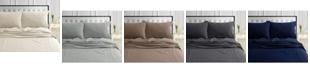 Tribeca Living 170-GSM Ultra-Soft Cotton Flannel Solid Extra Deep Pocket Sheet Set