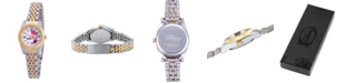 ewatchfactory Disney Minnie Mouse Women's Two Tone Silver and Gold Alloy Watch