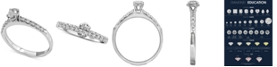 Macy's Diamond Engagement Ring (1/2 ct. t.w.) in 14k White Gold