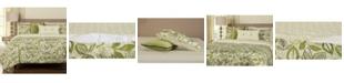 Siscovers Lahaina Luau Tropical Reversible 6 Piece Queen Luxury Duvet Set