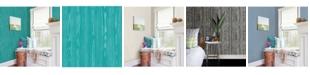 "Brewster Home Fashions Illusion Faux Wood Wallpaper - 396"" x 20.5"" x 0.025"""