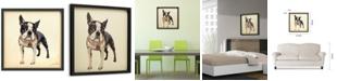 Empire Art Direct 'Boston Terrier' Dimensional Collage Wall Art - 25'' x 25''