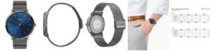 BOSS Men's Horizon Ultra Slim Gray Ion-Plated Stainless Steel Bracelet Watch 40mm