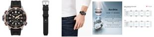 Citizen Eco-Drive Men's Promaster Aqualand Black Polyurethane Strap Watch 46mm - A 30th Anniversary Limited Edition