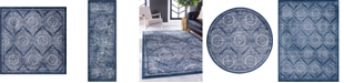 Bridgeport Home Anika Ani3 Navy Blue Area Rug Collection