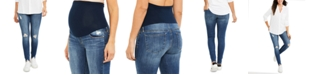 Articles of Society Artticles of Society Maternity Distressed Skinny Jeans