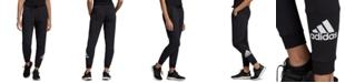 adidas Women's Fleece Logo Sweatpants