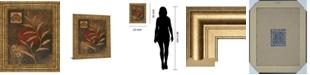 "Classy Art Copper Rhythm II by Vivian Flasch Framed Print Wall Art, 22"" x 26"""