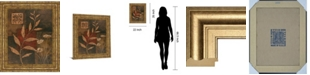 "Classy Art Copper Rhythm I by Vivian Flasch Framed Print Wall Art, 22"" x 26"""