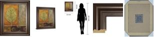 """Classy Art Copper Leaf by Viola Lee Framed Print Wall Art, 22"""" x 26"""""""