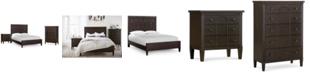 Klaussner Charleston Lane Bedroom Furniture, 3-Pc. Set (Queen Bed, Nightstand & Chest)