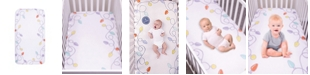 Trend Lab Holiday Lights Flannel Photo Op Crib Sheet