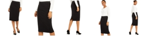 Alfani Below-Knee Pencil Skirt, Created for Macy's