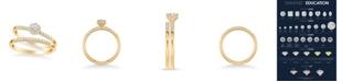 Macy's Diamond Bridal Set (3/8 ct. t.w.) in 14k Yellow, White or Rose Gold