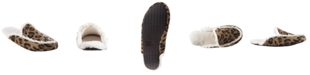 Isotoner Signature Isotoner Microsuede Alex Scuff with 360 Surround Memory Foam Slipper, Online Only