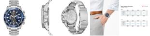 Citizen Eco-Drive Men's Chronograph Promaster Diver Stainless Steel Bracelet Watch 46mm