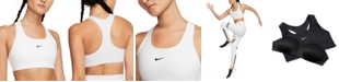 Nike Women's 1-Piece Pad Medium-Support Sports Bra